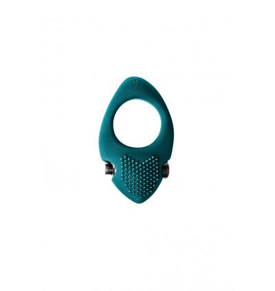 Lola Toys Erection Vibroring Pure Passion Sunset Green - Wibrujący pierścień erekcyjny, zielony