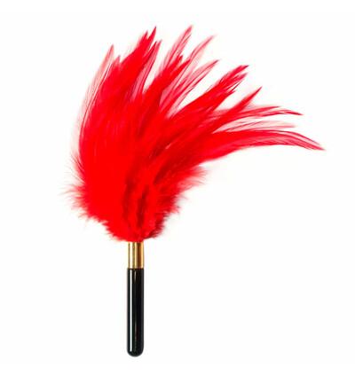 Lola Games Tickler Burlesque Plume Red - Piórko do łaskotania, czerwone