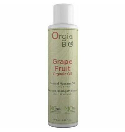 Orgie Bio Grape Fruit Organic Oil 100Ml - Organiczny olejek do masażu