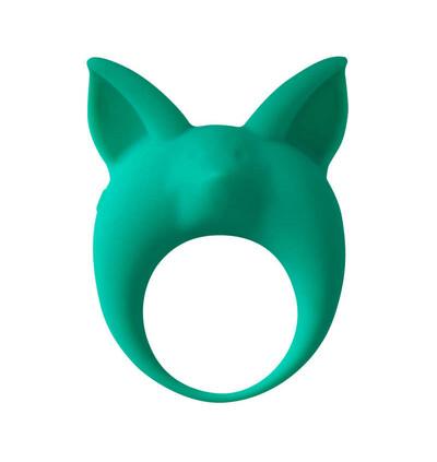Lola Games Mimi Animals Kitten Kyle Green - Wibrujący pierścień na penisa, zielony