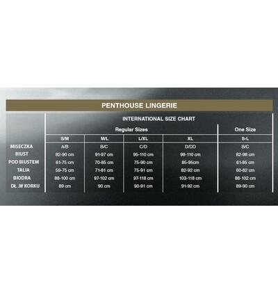 Penthouse Hot Getaway - Stringi, Biały
