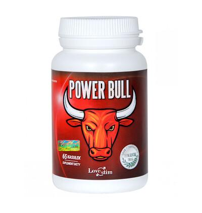Love Stim Power Bull 65Kaps - Kapsułki na potencję