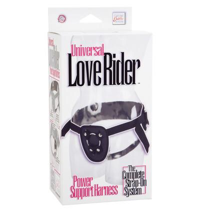 Love Rider Power Support Harness Black - Uprząż strap on