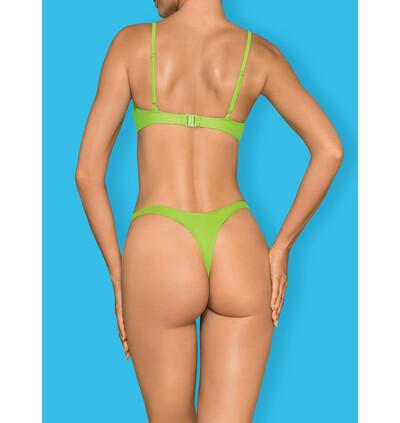 Obsessive Mexico Beach - strój kąpielowy, Zielony