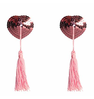 Lola Games Pasties Burlesque Gipsy Pink - Nasutniki, różowe