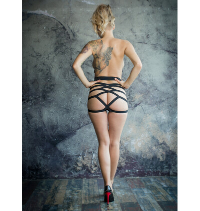 Lola Toys Panties For Strap-On No Mercy Roughly - Uprząż strap on