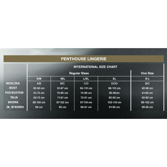 Penthouse Libido Boost - Babydoll, Czerwony