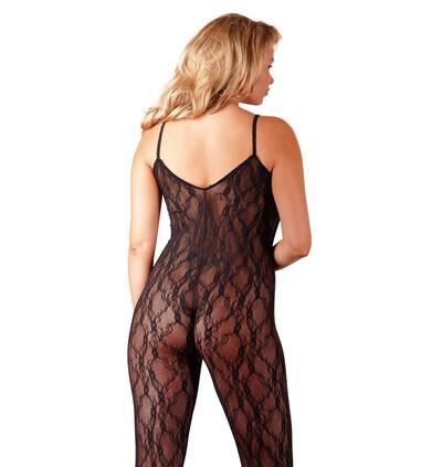 Mandy Mystery lingerie Catsuit Schwarz Xxl-Xxxl - bodystocking, czarne
