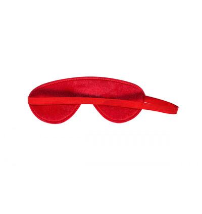 Lola Games Mask Party Hard Shy Red - Opaska na oczy, czerwona