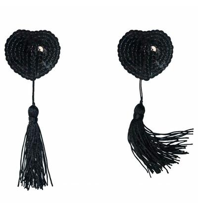 Lola Games Pasties Burlesque Gipsy Black - Nasutniki, czarne
