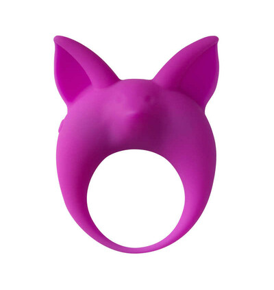 Lola Games Mimi Animals Kitten Kyle Purple - Wibrujący pierścień na penisa, fioletowy
