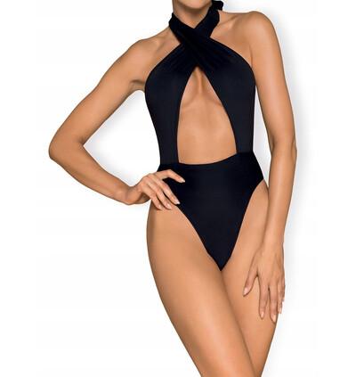 Obsessive Acantila - strój kąpielowy, Czarny