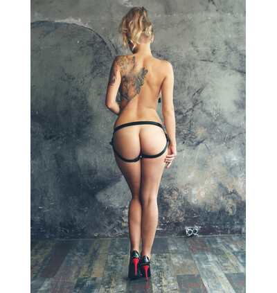 Lola Toys Panties For Strap-On No Mercy Stronger One Size - Uprząż strap on