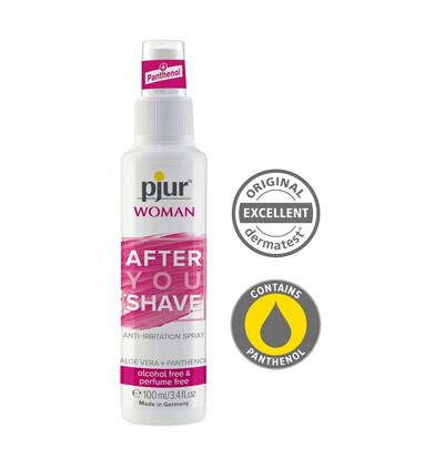 Pjur Woman After You Shave Spray 100 Ml - Spray łagodzący po goleniu intymnym