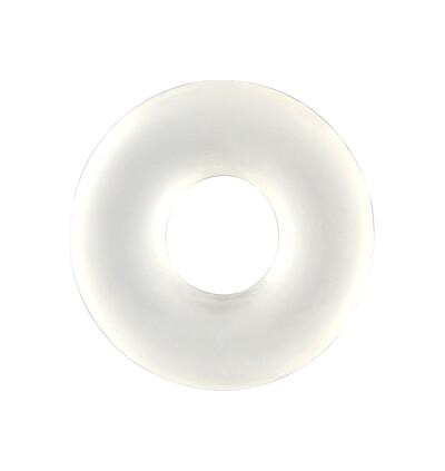 Seven Creations Stretchy Cockring Clear - Elastyczny pierścień erekcyjny