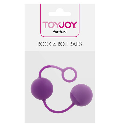 ToyJoy Rock & Roll Balls Purple - Kulki gejszy