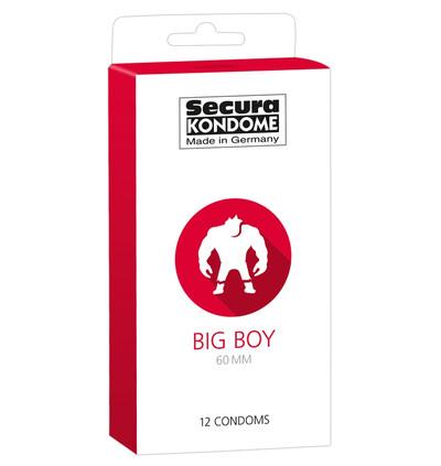 Secura Big 60Mm 12 szt - Prezerwatywy
