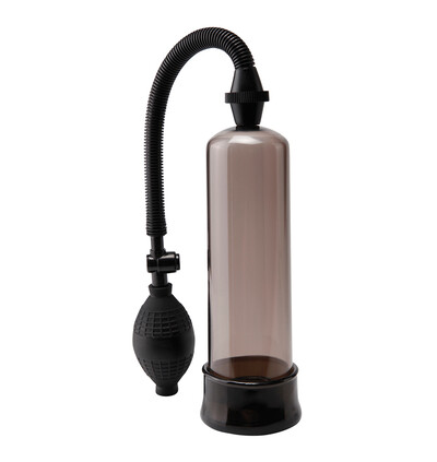Pipedream Beginners Power Pump Black - Pompka powiększająca penisa, czarna