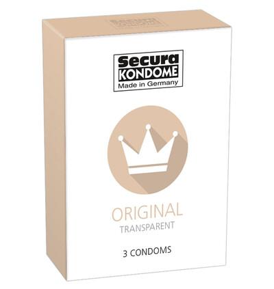 Secura Original 3 szt - Prezerwatywy