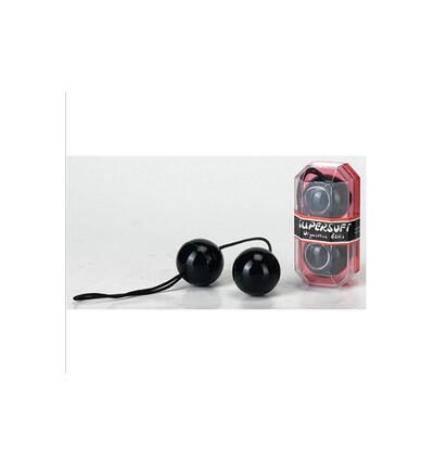 Seven Creations Pvc Duotone Balls Black - Kulki gejszy