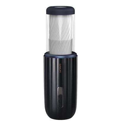 Svakom Cn Alex Dark Blue - Masturbator automatyczny z głośnikiem
