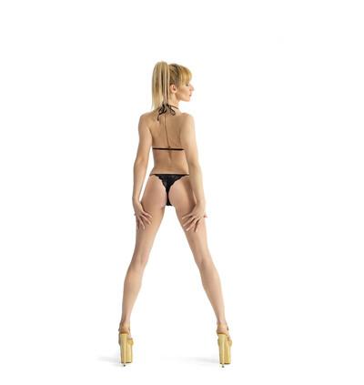 Roxie Luve Much b - Body, Czarny