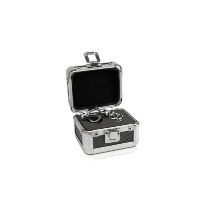 Pipedream Metal Worx Magnetic Nipple Clamp - Klipsy na sutki z zapieciem magnetycznym
