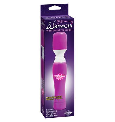 Pipedream Wanachi Maxi Massager Purple - Wibrator wand, fioletowy