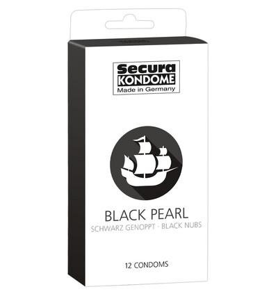 Secura Black Pearl 12 szt - Prezerwatywy