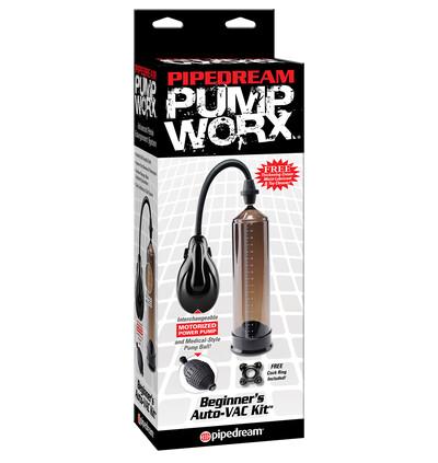 Pipedream Beginners Auto Vacuum Kit - Pompka powiększająca penisa