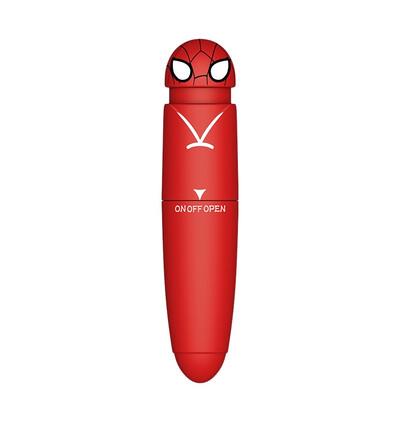 Power Escorts Pocket Hero Red - Miniwibrator, czerwony