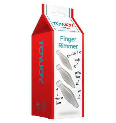 ToyJoy Finger Rimmer 3Pcs. - Zestaw korków analnych