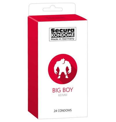 Secura Big 60Mm 24 szt - Prezerwatywy