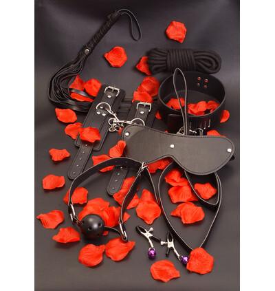 ToyJoy Amazing Bondage Sex Toy Kit - Zestaw gadżetów bdsm