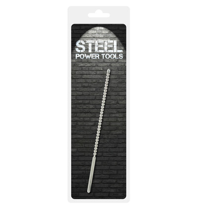 Steel Power Tools Dip Stick Ribbed 6 Mm - Sonda do cewki moczowej