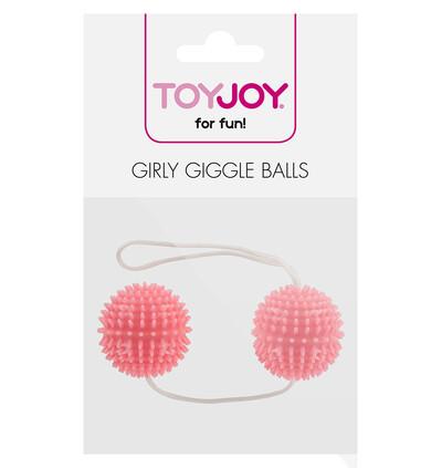 ToyJoy Girly Giggle Love Balls Soft Pink - Kulki gejszy