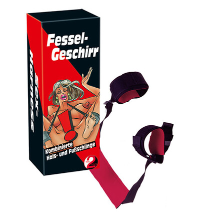 You2Toys Hals Füsse Fessel - System do krępowania