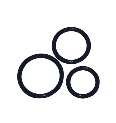 You2Toys Silicone Cock Ring 3 - Zestaw elastycznych pierścieni erekcyjnych