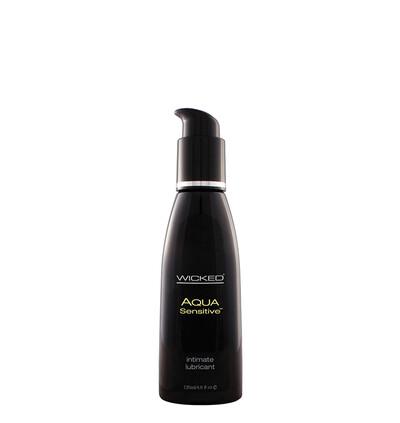 Wicked Aqua Sensitive 120Ml - Lubrykant na bazie wody, do skóry delikatnej
