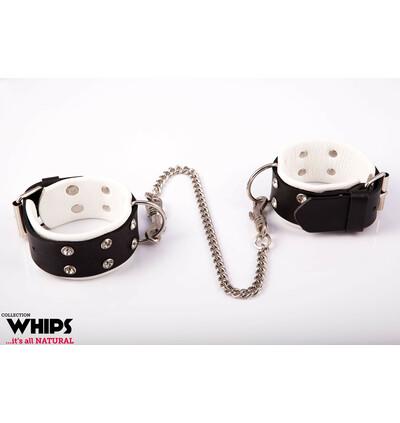 Whips Collection - Kajdanki Damskie Na Nogi, Biały