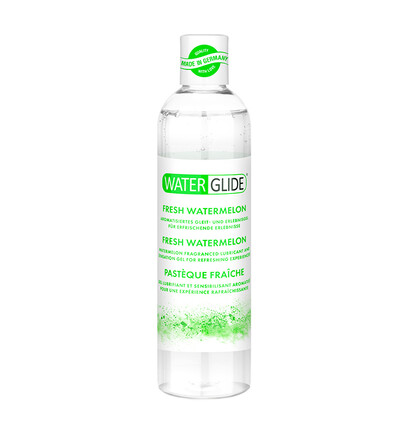 Waterglide 300 Ml Fresh Watermelon - Lubrykant na bazie wody, arbuzowy