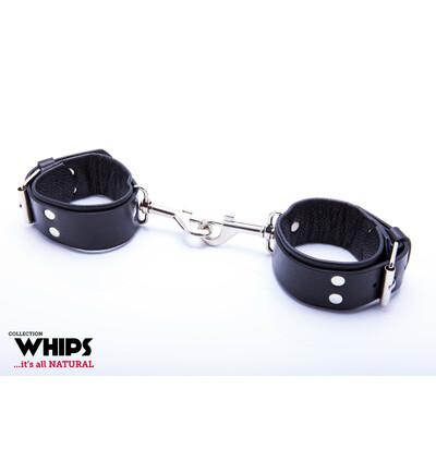 Whips Collection - Kajdanki Męskie Z Karabińczykami