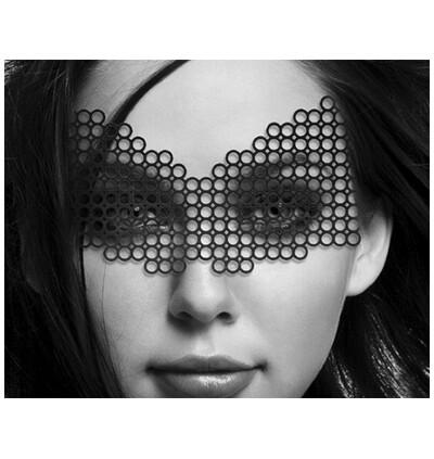 Bijoux Indiscrets  Erika - zmysłowa maska- czarny