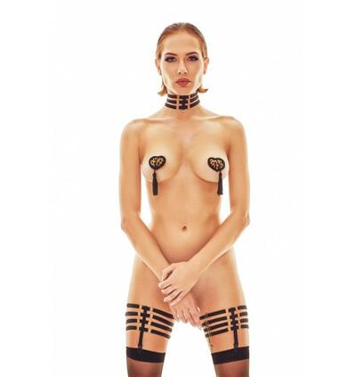 Ritmo Collar - Czarny harness