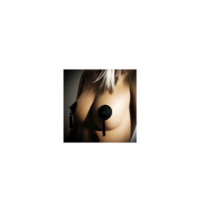 Burlesque - nasutniki z frędzlami - czarny