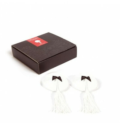 Burlesque Pasties - nasutniki  - biały