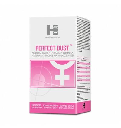 Perfect Bust tabletki - suplement ujędrniający biust