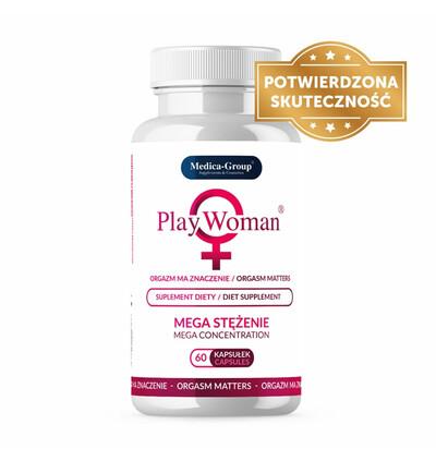 PlayWoman - Suplement diety na pobudzenie orgazmu dla kobiet