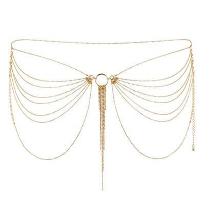 Bijoux Indiscrets Magnifique - łańcuszek na pośladki, złoty