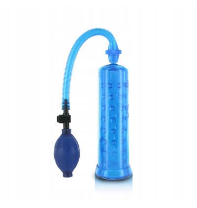 XLsucker  Penis Pump - pompka do penisa, niebieski